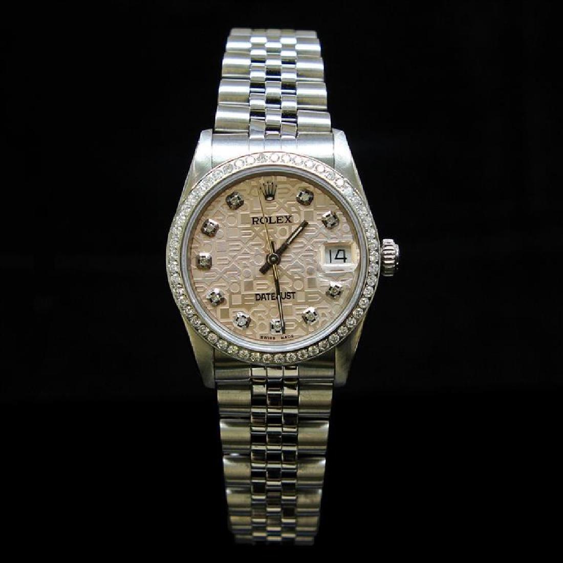 Rolex DateJust 31mm Jubelee Diamond Dial & Bezel Aprox.