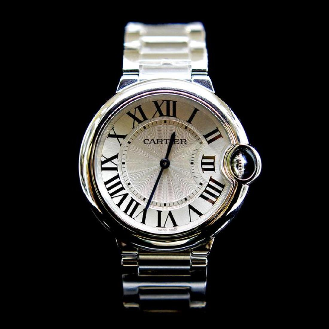 Cartier Ballon Bleu 33mm Womens Wristwatch