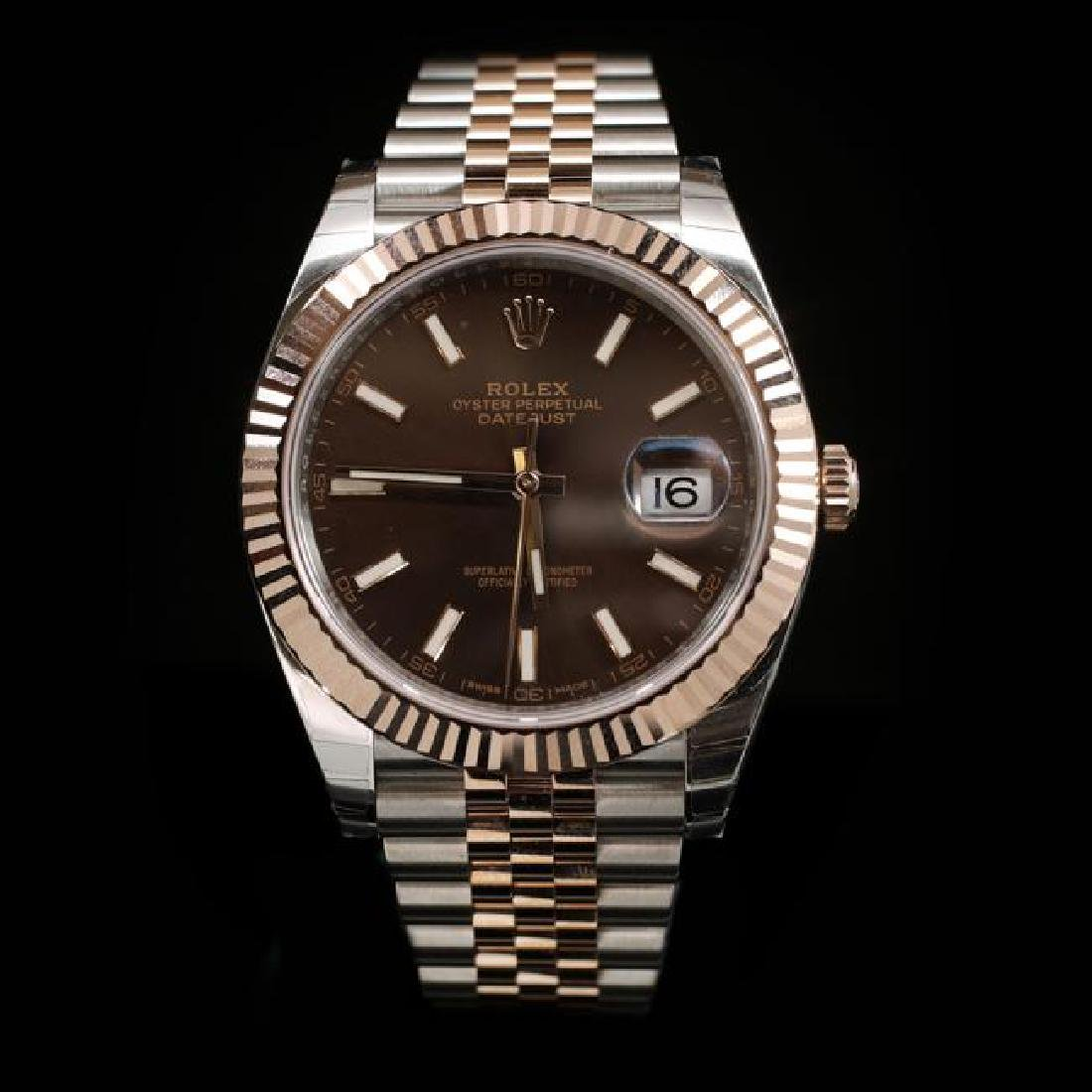 Rolex DateJust Two-Tone 41mm Men's Wristwatch