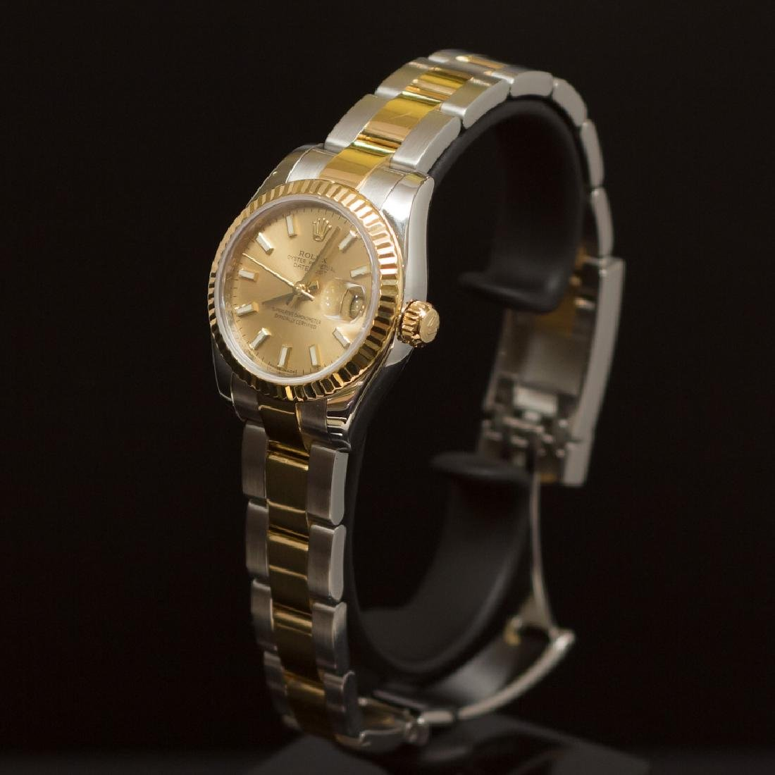 Rolex Two-Tone Datejust 26mm Oyster Band Women's - 2