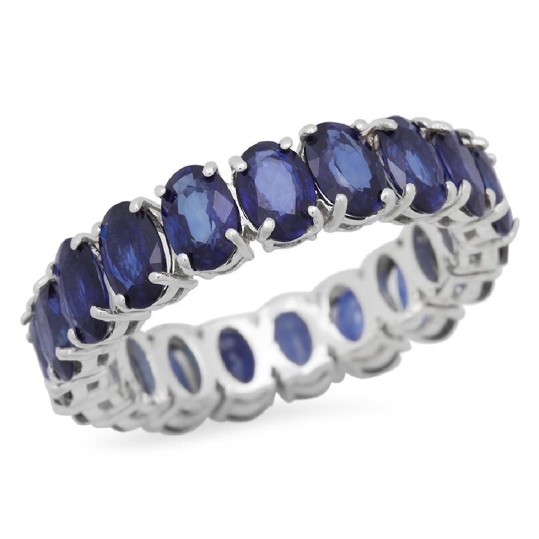 14K Gold 9.00ct Sapphire Ring