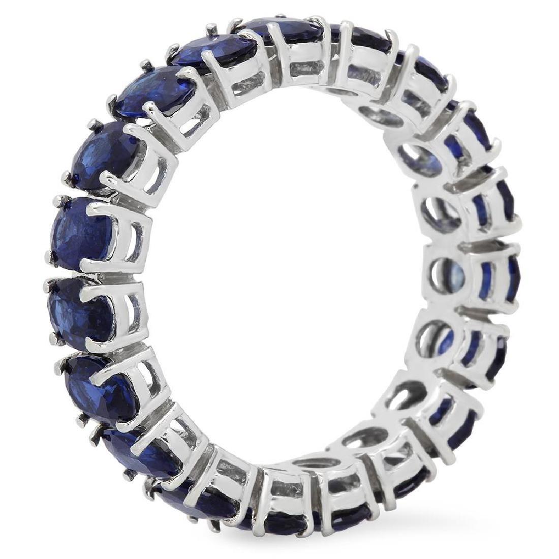 14K Gold 9.00ct Sapphire Ring - 2