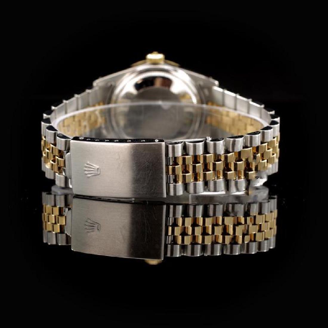 Rolex DateJust Two-Tone 31mm Custom Diamond Bezel - 3