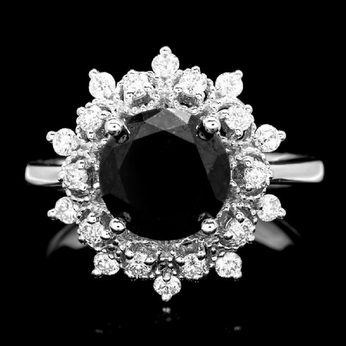 14k White Gold 2.8ct Diamond Ring