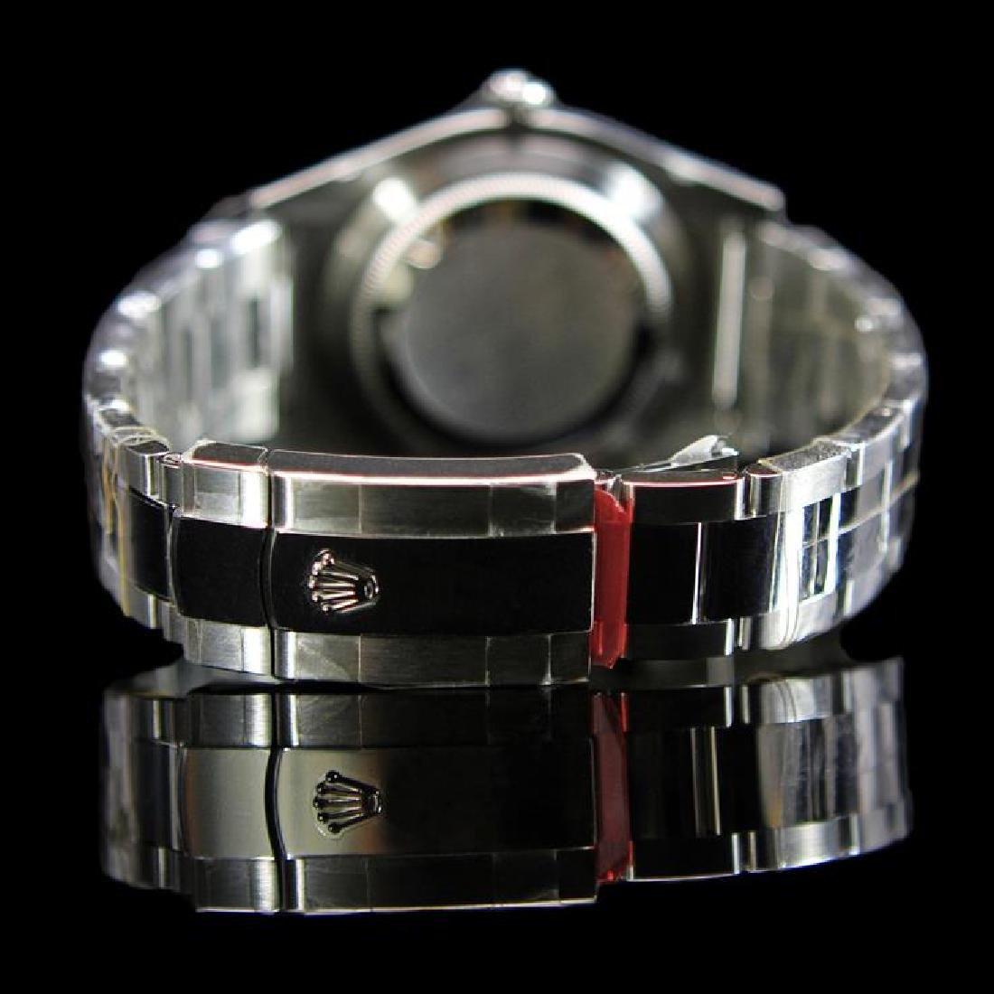 Rolex DateJust 41mm Black Index Diamond Bezel Aprox. - 3