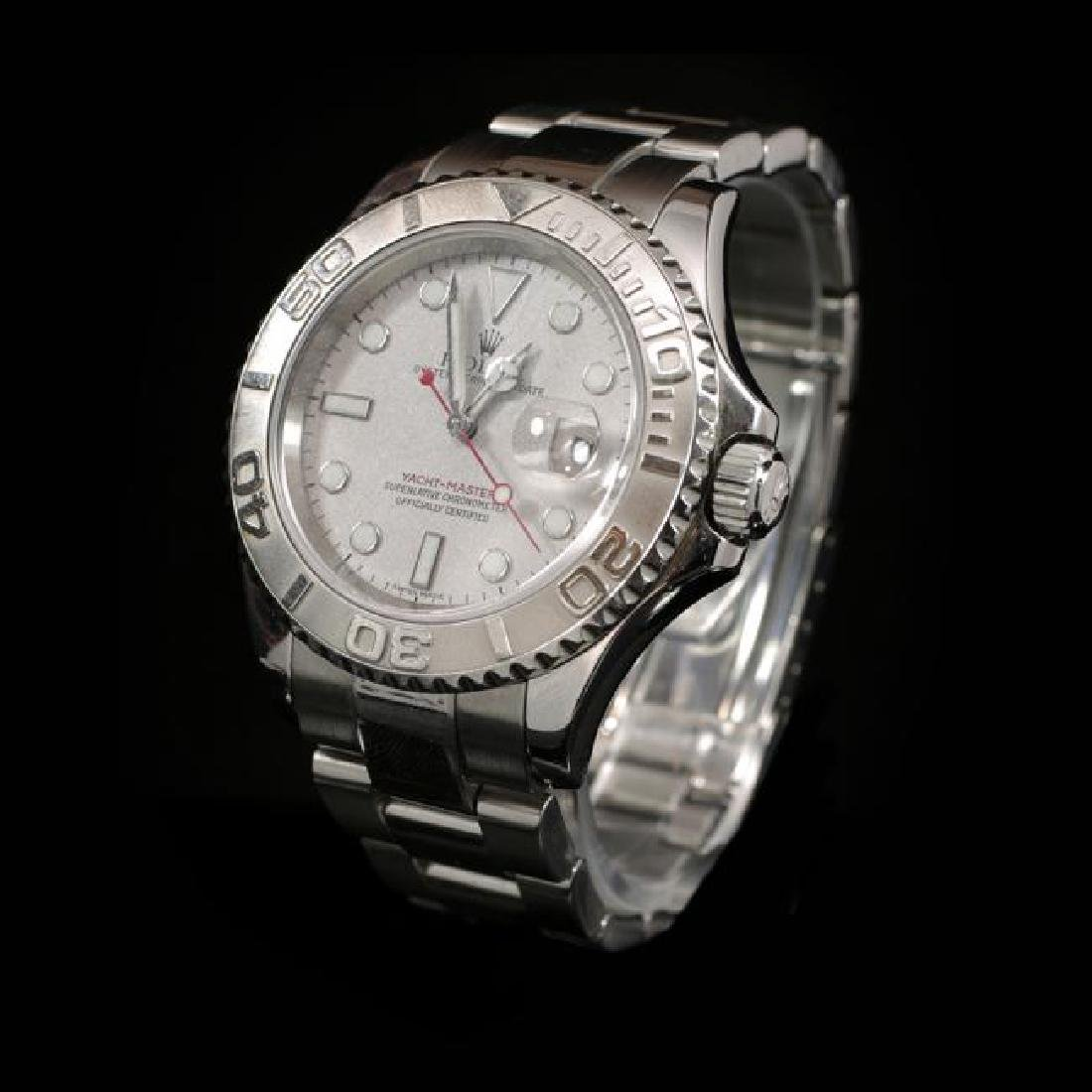 Rolex YachtMaster SS 40mm Mens Wristwatch - 2