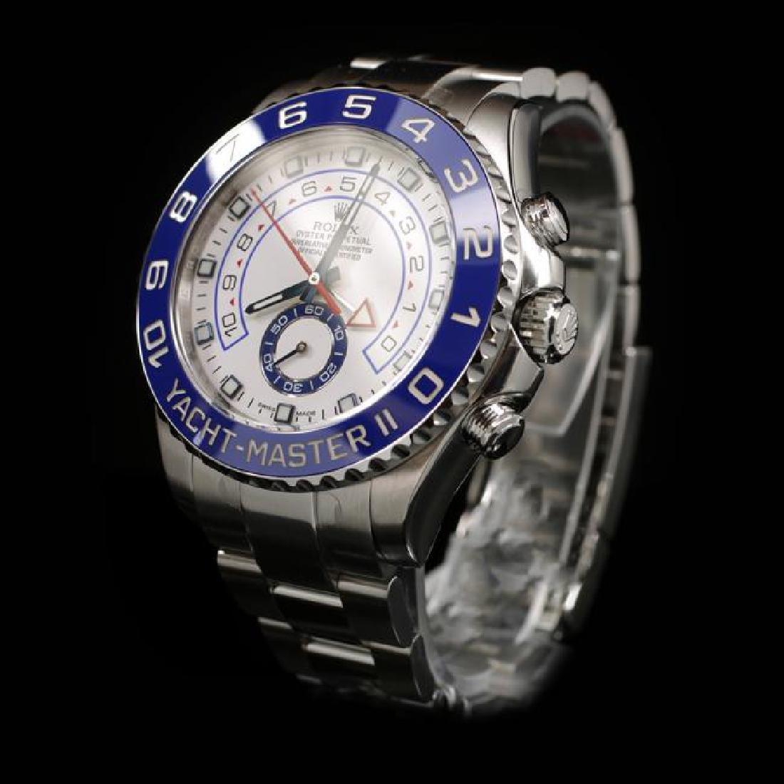 Rolex YachtMaster SS 44mm Mens Wristwatch - 2