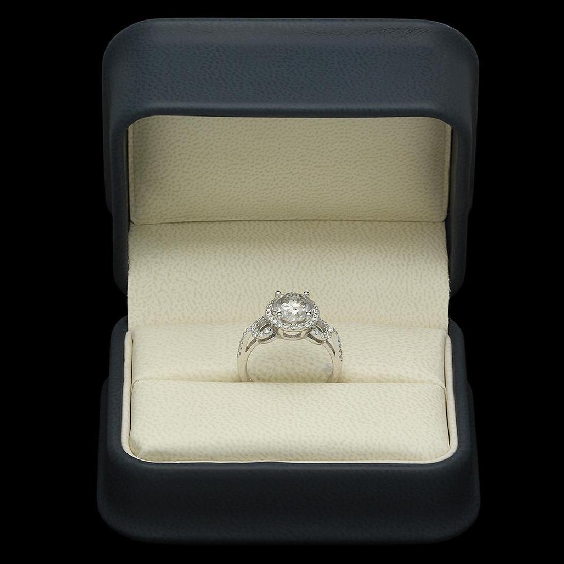 14K Gold 2.73ct Diamond Ring - 4