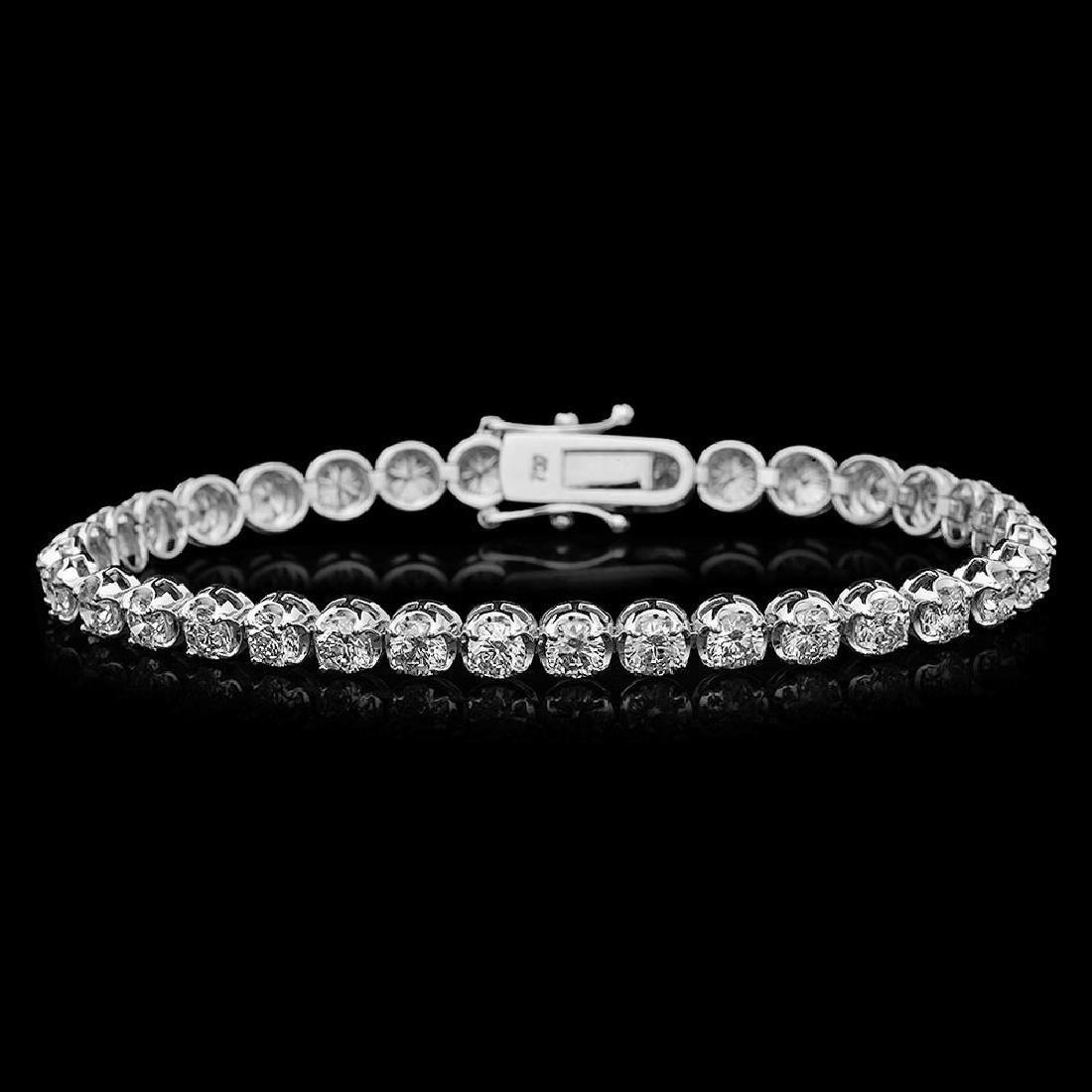 18K Gold 8.20 Diamond Bracelet