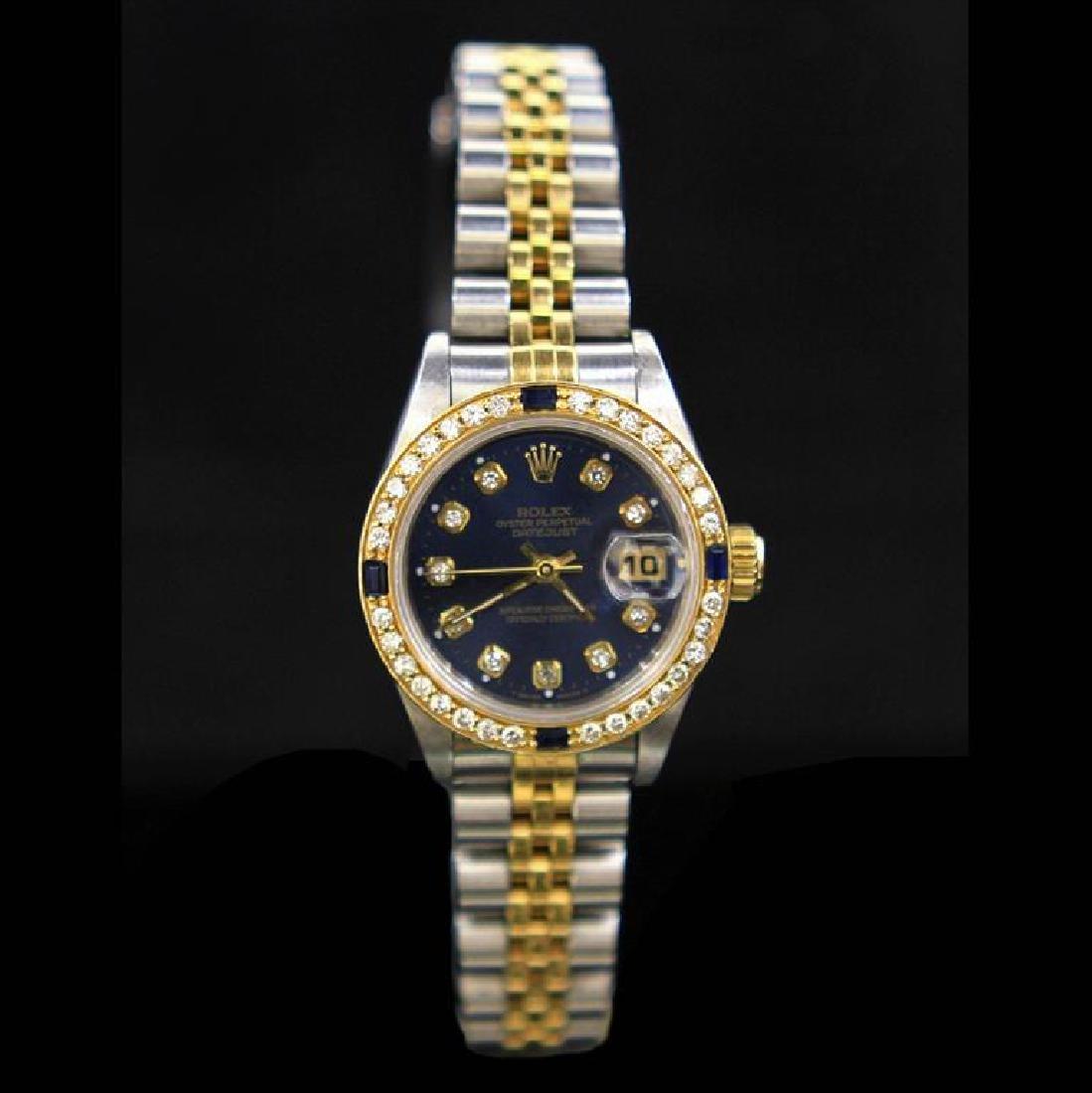 Rolex Two-Tone DateJust 26mm Diamond Dial & Bezel