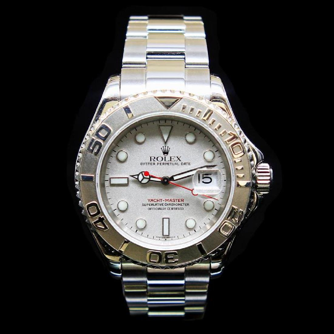 Rolex YachtMaster 40mm Mens Wristwatch