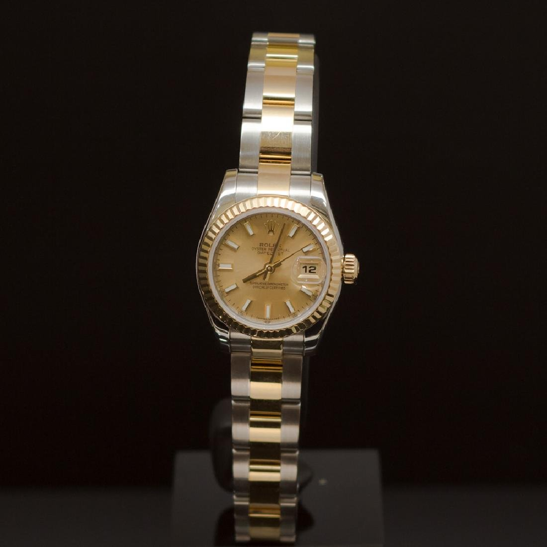 Rolex Two-Tone Datejust 26mm Oyster Band Women's