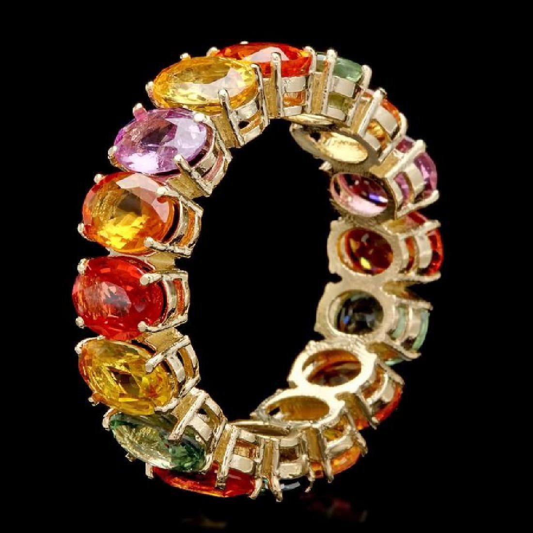14k Yellow Gold 14.00ct Sapphire Ring