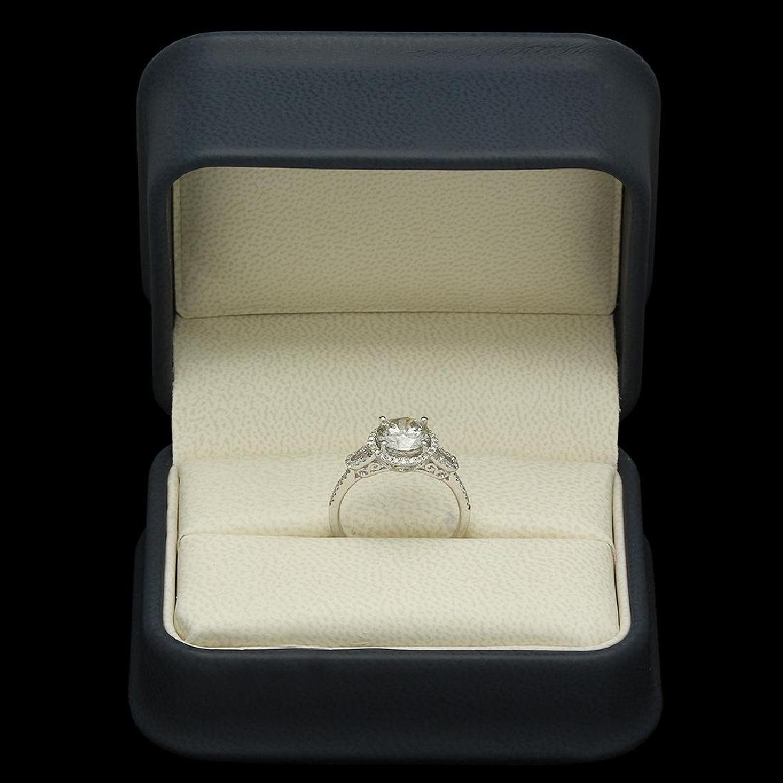 14K Gold 1.79ct Diamond Ring - 4