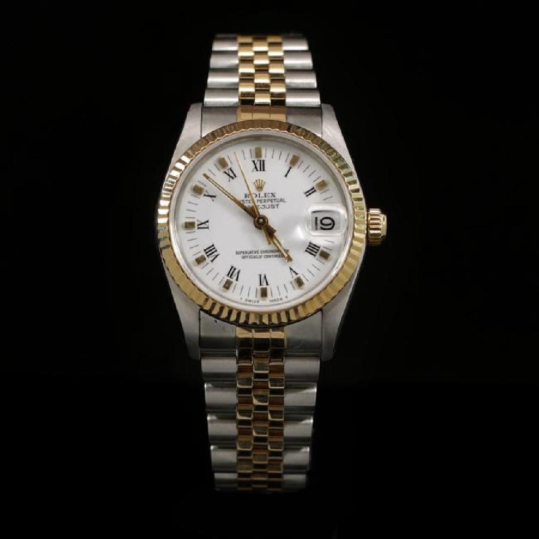 Rolex DateJust Two-Tone 31mm Women's