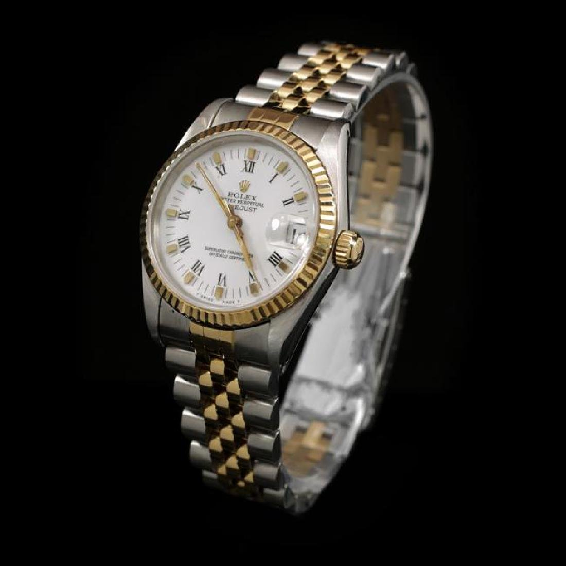 Rolex DateJust Two-Tone 31mm Women's - 2