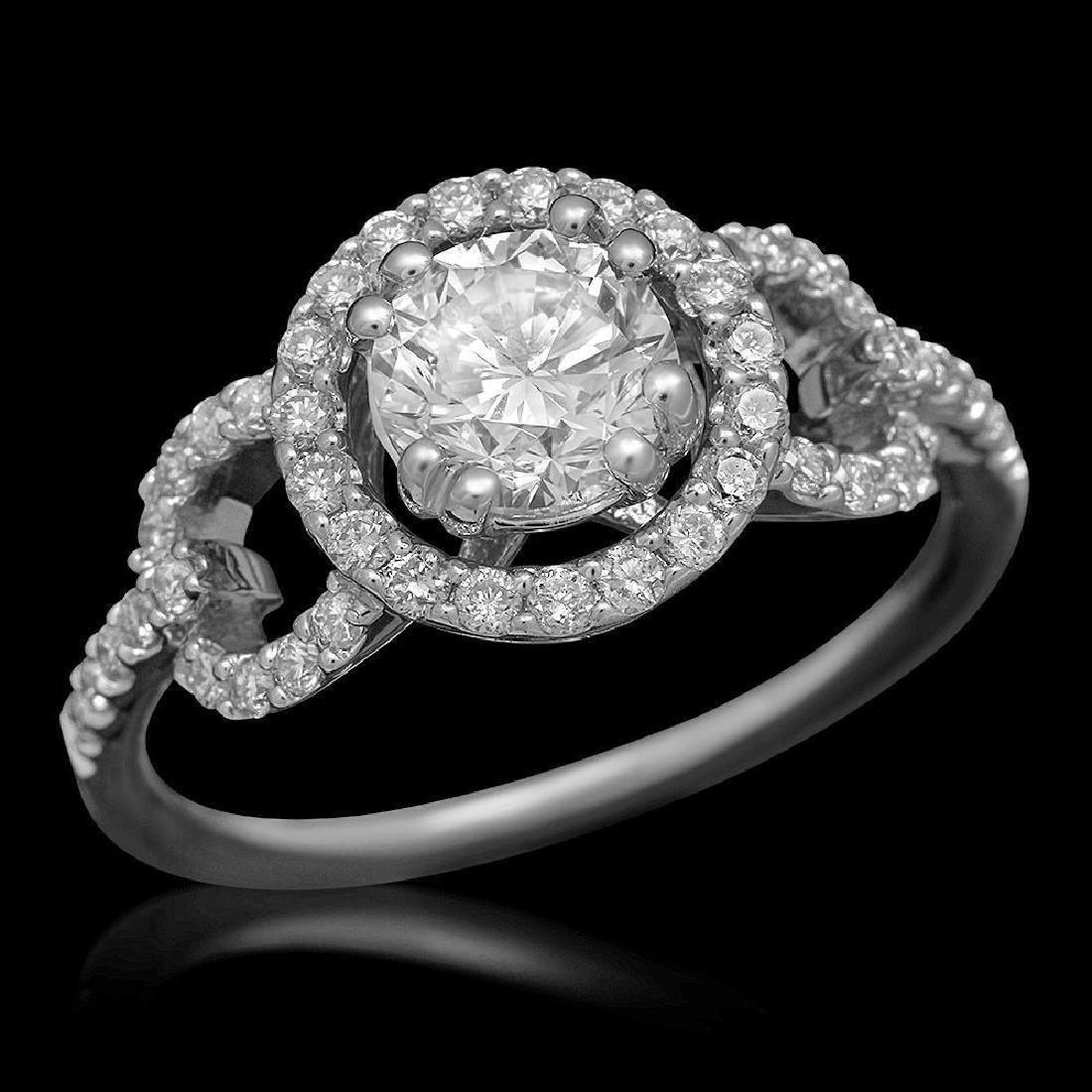14K Gold 1.44ct Diamond Ring