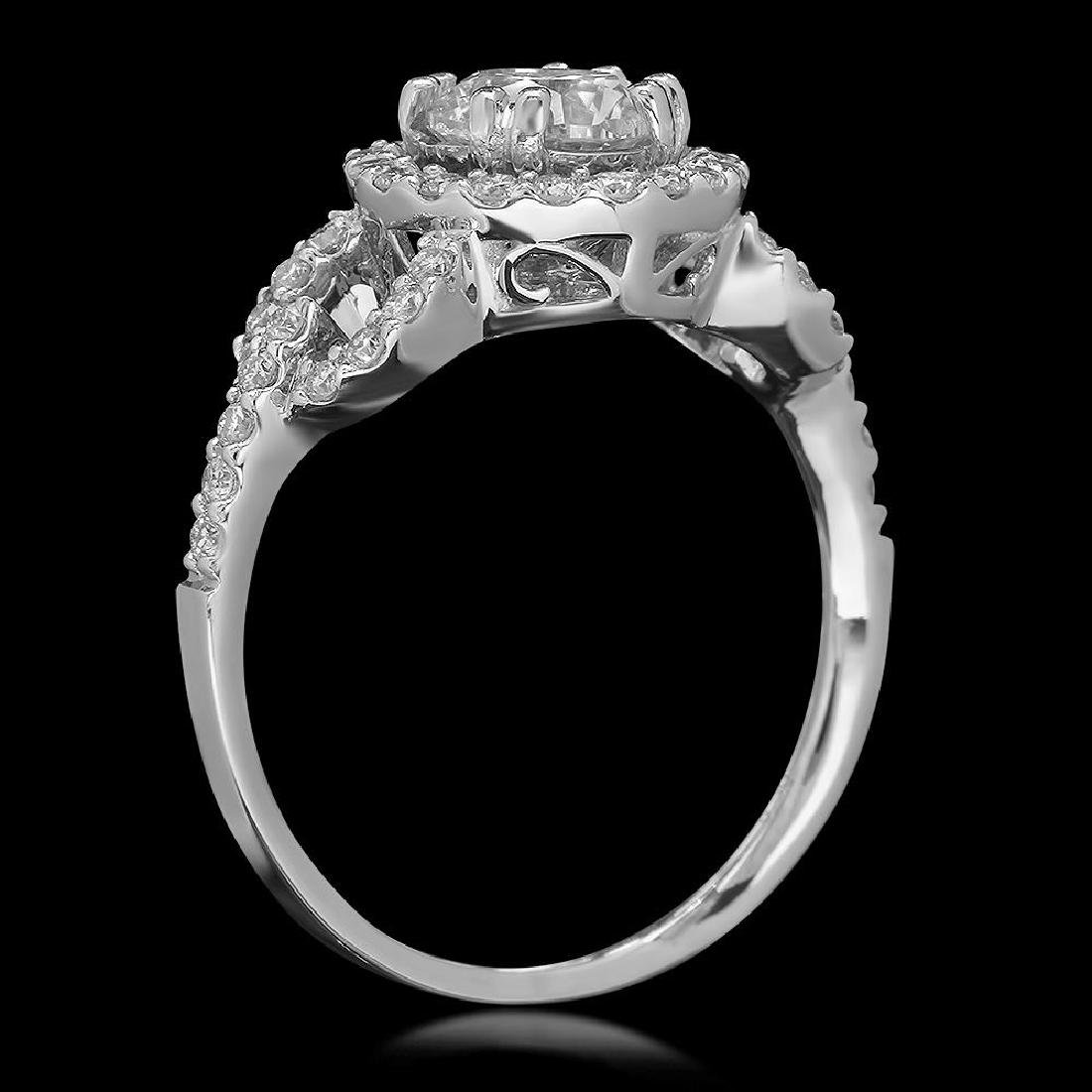 14K Gold 1.44ct Diamond Ring - 2