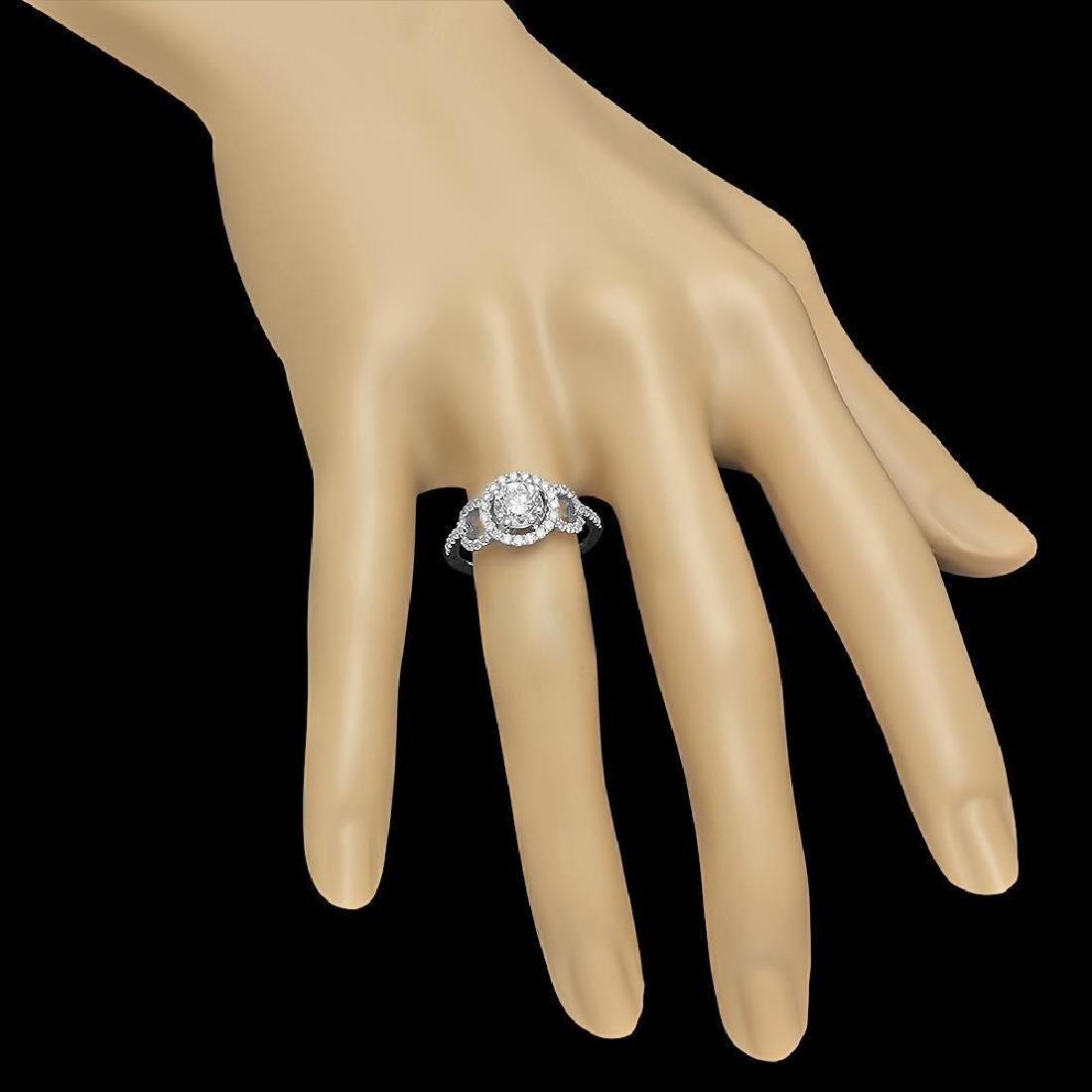 14K Gold 1.44ct Diamond Ring - 3