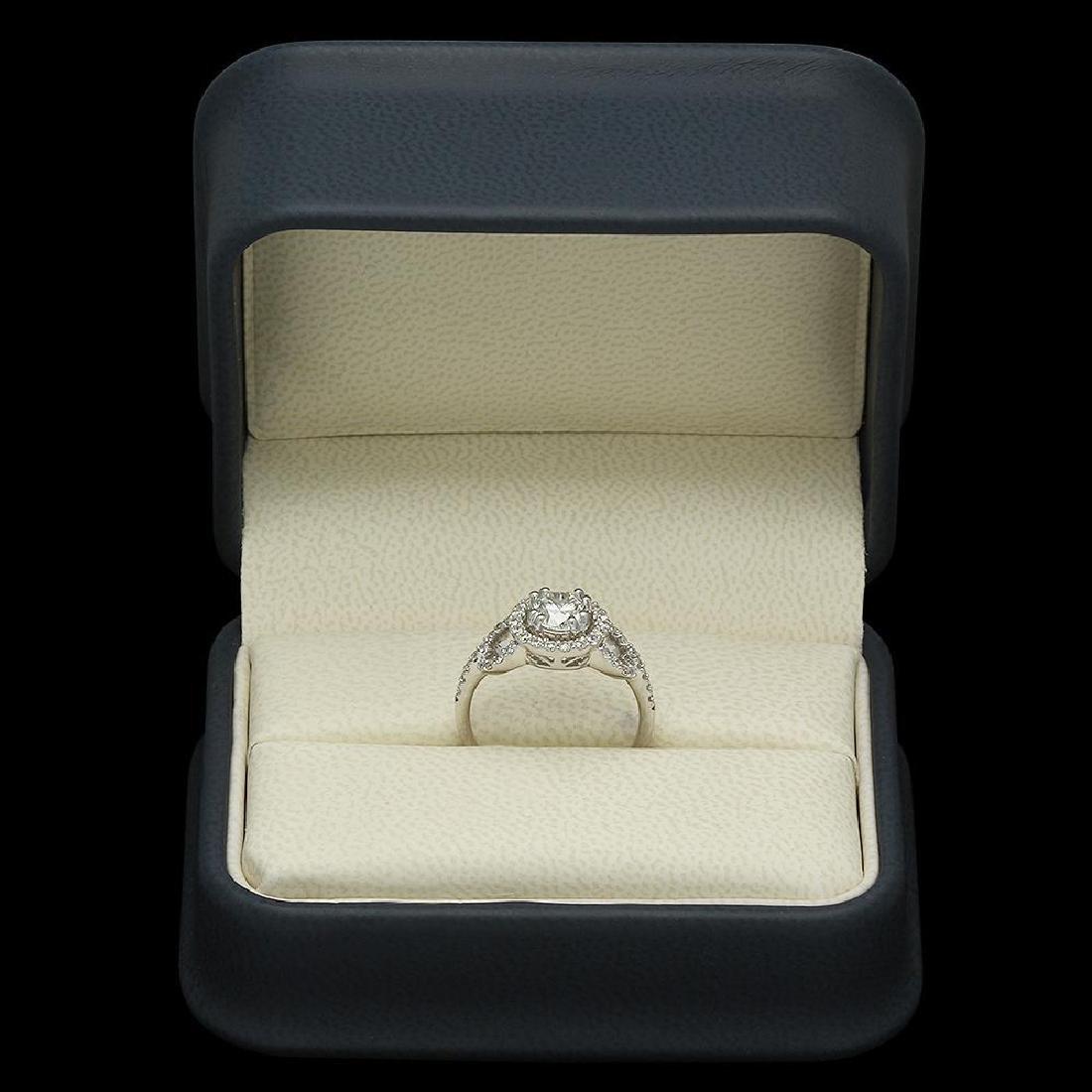 14K Gold 1.44ct Diamond Ring - 4