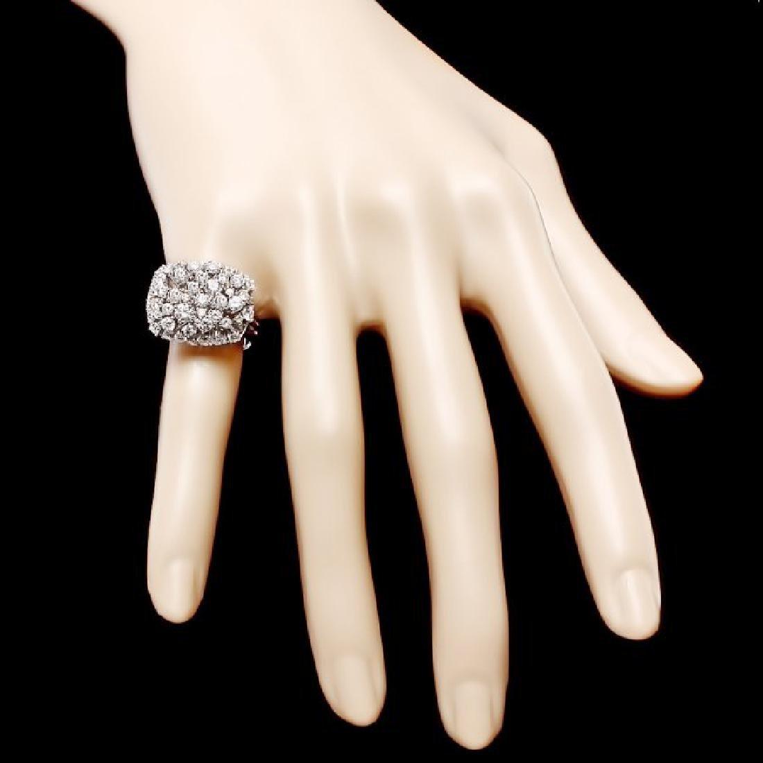 14k White Gold 2.50ct Diamond Ring - 4
