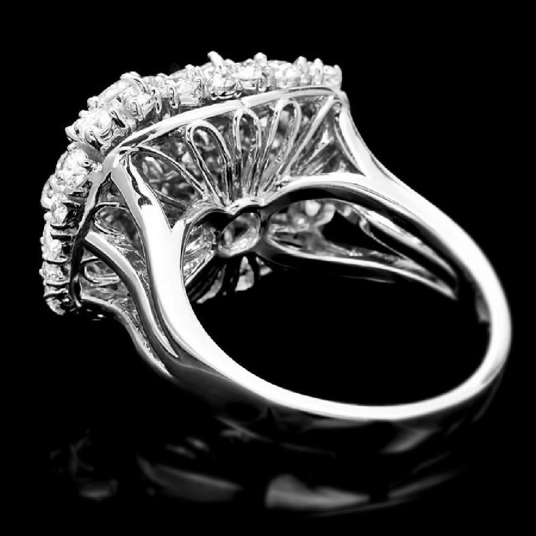 14k White Gold 2.50ct Diamond Ring - 5