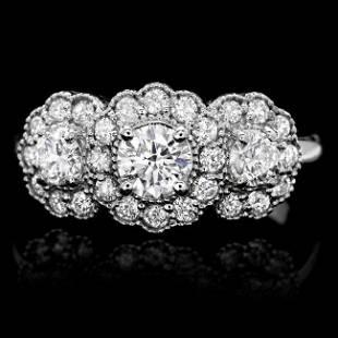 14k White Gold 12ct Diamond Ring