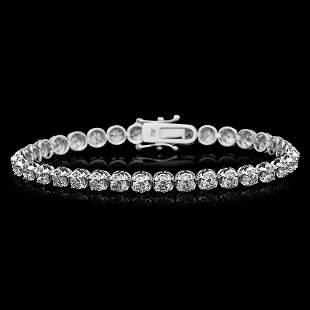 18K Gold 8.20 Diamond Bracelet