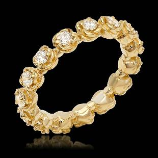 14K Yellow Gold 1.14cts. Diamond Ring