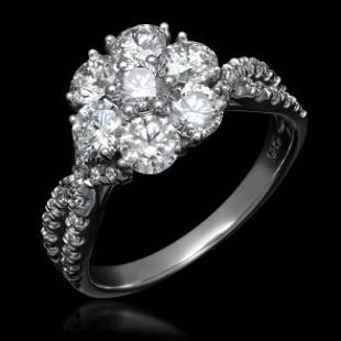 14K Gold 2.02ct Diamond Ring