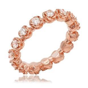 K Rose Gold 1.13cts. Diamond Ring