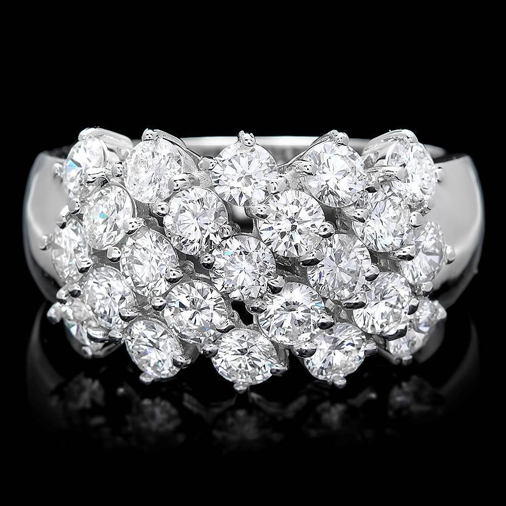 14k White Gold 2.25ct Diamond Ring