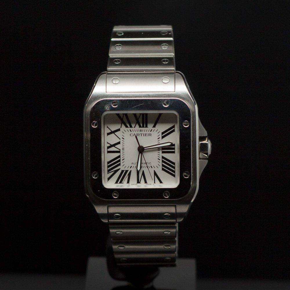 Cartier Santos 100 XL Men's Wristwatch