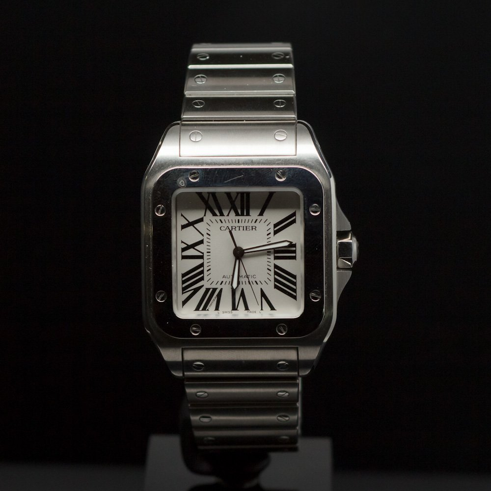 Cartier Santos 100 XL Men's Wristwatch