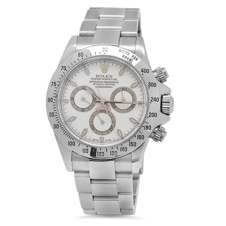 Rolex Stainless Steel Daytona Oyster Perpetual Men's
