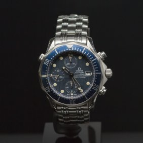 Omega Seamaster 300 M Chrono Diver Stainless Steel 42mm