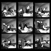 Harry Benson: Beatles Pillow Fight x 9