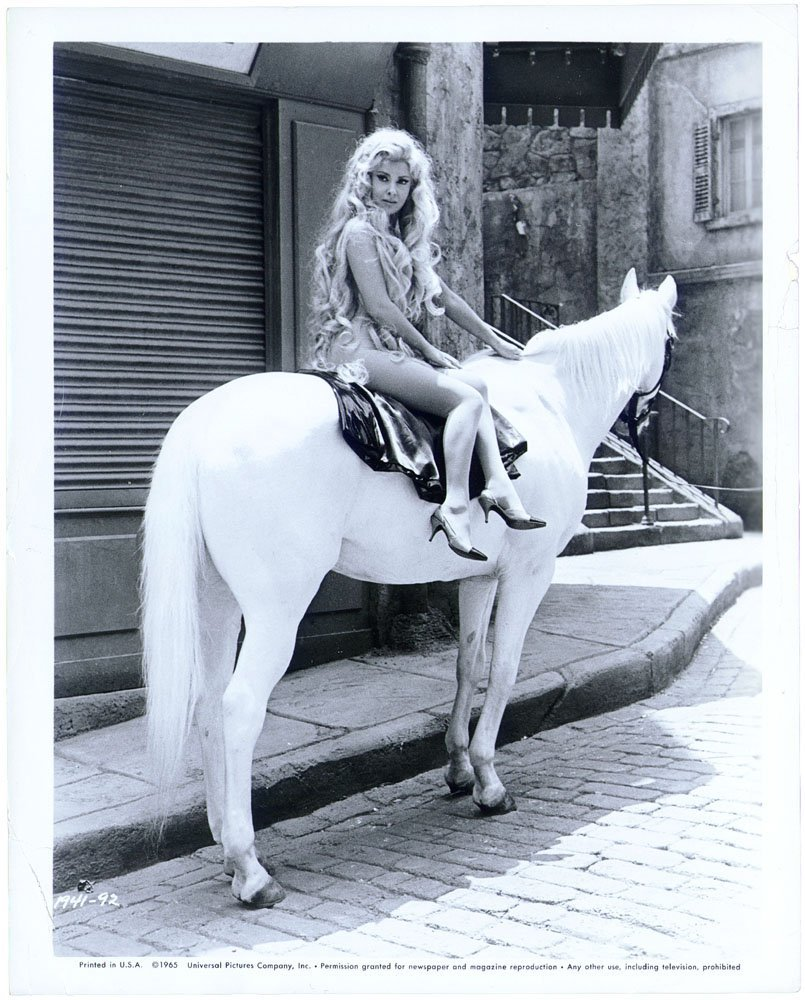 Nude GINA LOLLOBRIGIDA Vintage 1965 Photo-Lady Godiva