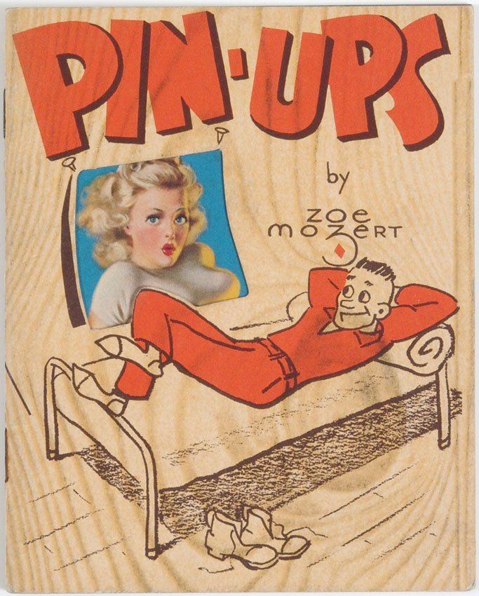 Vtg WWII Booklet-11 Pinups by Zoe Mozert-GI Advertising