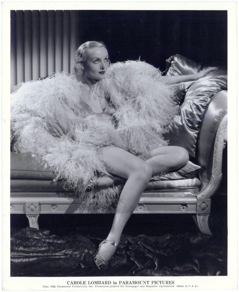 CAROLE LOMBARD Stunning RARE Original 1933 Photo