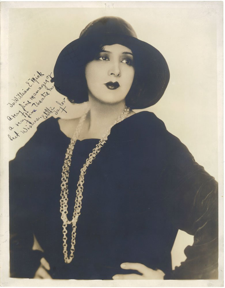 ESTELLE TAYLOR Old c20s Incredible Art Deco Real Photo
