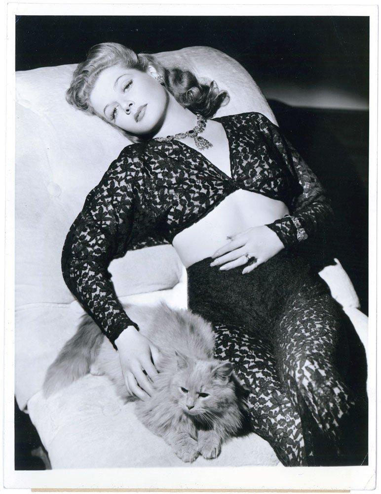 1942 Photo ANN SHERIDAN in Risque Lace-Rare Original