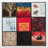 SCARCE Giclee CRAIG ALAN Mixed Media Abstract Collage