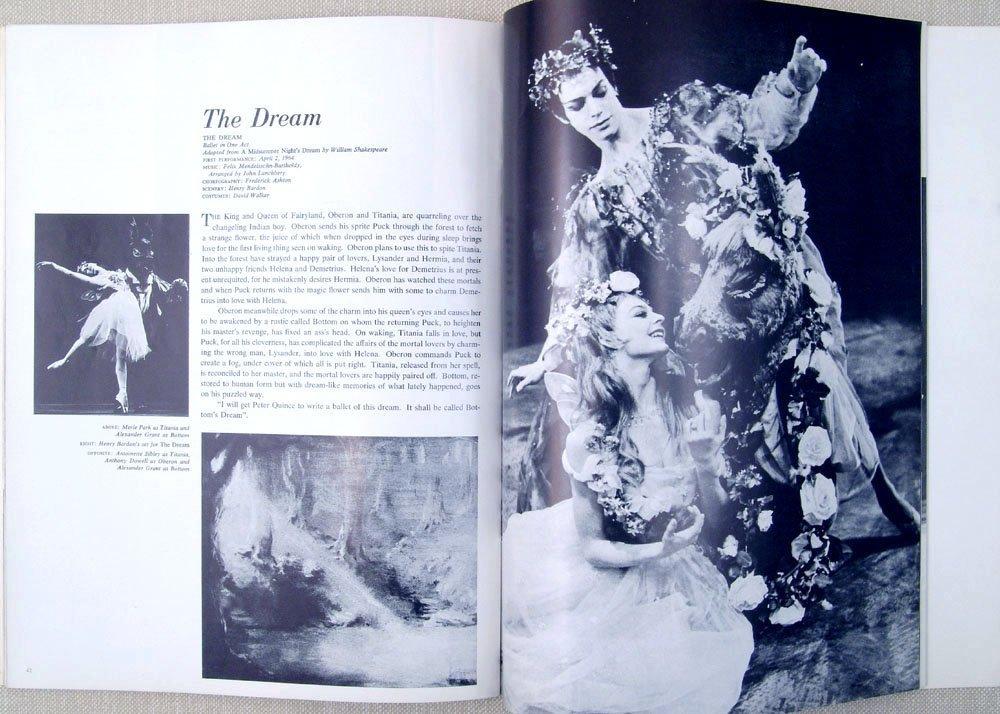 1965 Program THE ROYAL BALLET Nureyev Fonteyn Swan Lake - 3