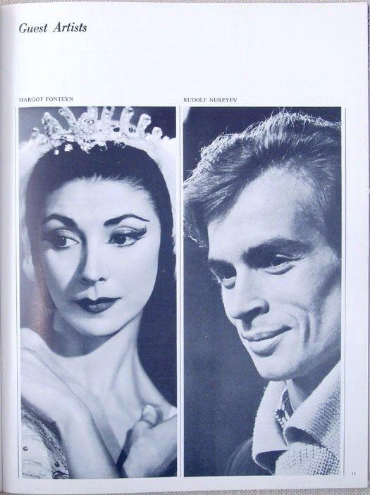 1965 Program THE ROYAL BALLET Nureyev Fonteyn Swan Lake - 4