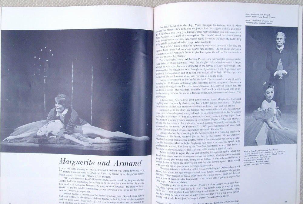 1965 Program THE ROYAL BALLET Nureyev Fonteyn Swan Lake - 5