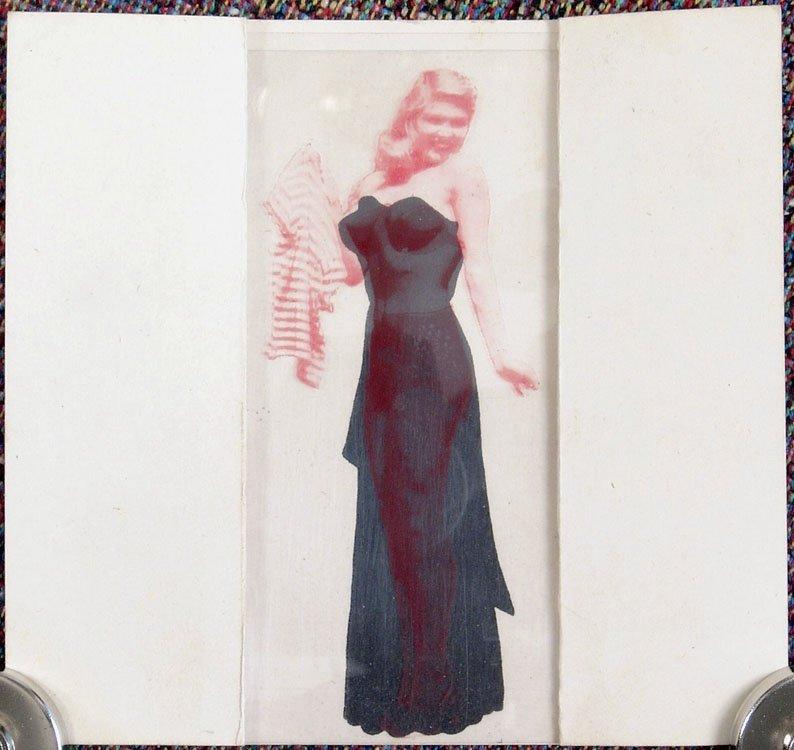 Old Vintage POCKET STRIP TEASE Dress to Undies to Nude