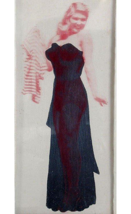 Old Vintage POCKET STRIP TEASE Dress to Undies to Nude - 2