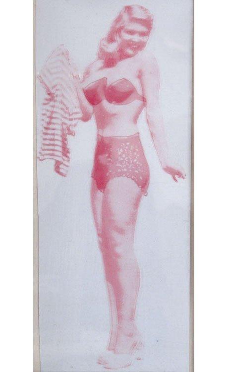 Old Vintage POCKET STRIP TEASE Dress to Undies to Nude - 3