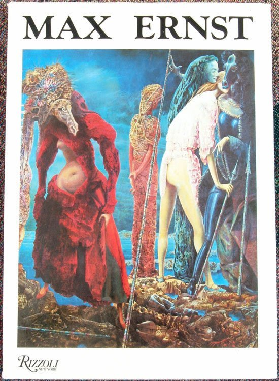 1984 HC Book Master of Surrealism MAX ERNST 1st Edition